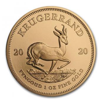 Krugerrand - 1 once Or pur 22 carats - Année 2021