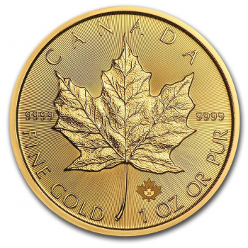 Maple Leaf - 1 once Or pur 24 carats - Année 2021