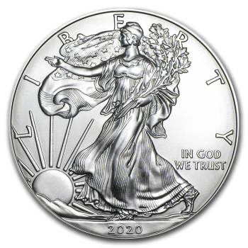 Liberty - 1 Once Argent 999.99%  - 2021