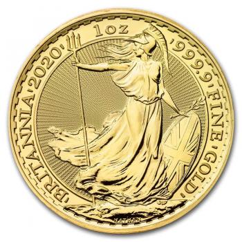 Britannia - 1 once d'Or pur 24 carats - Année 2021