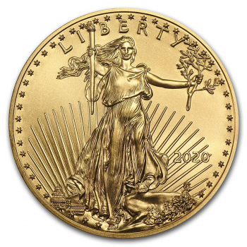 Liberty / Eagle - 1 once d'Or pur - Année 2021