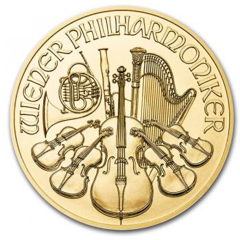 Philharmoniker  - 1/10 d'once d'Or pur 24 carats - Année 2020