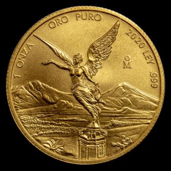 Libertad  - 1 once d'Or pur 24 carats - Année 2020