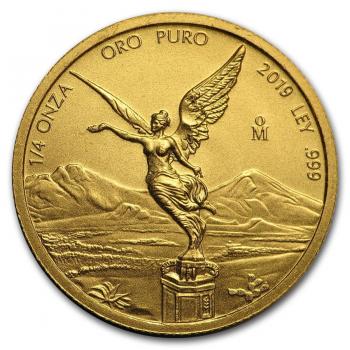 Libertad  - 1/4 d'once d'Or pur 24 carats - Année 2021