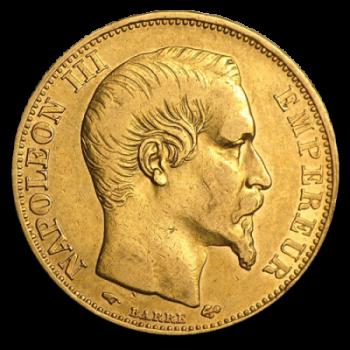 RARE - 20 Francs Napoléon III Or - Diff. Années